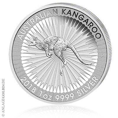 Känguru 2018 Silbermünzen und Goldmünzen aus Australien ab heute orderbar