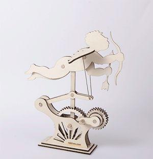 HOWTO make a laser-cut Cupid automata