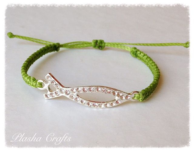 Brazalete GREEN FISH Bracelet Macrame