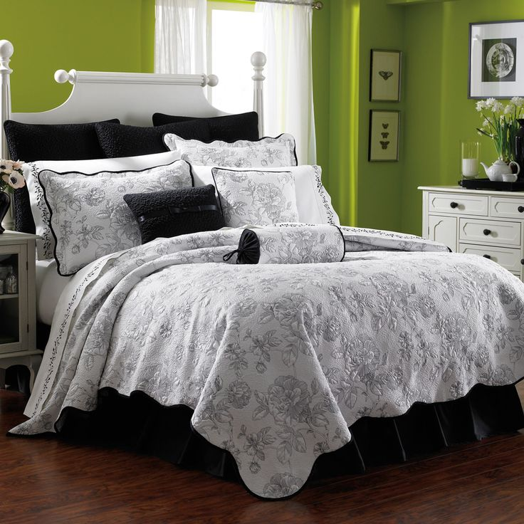 Lenox Moonlit Garden Quilt Bedding Set   Romance Comes Home. Upgrade Your  Bedroom To A Private Suite With The Lenox Moonlit Garden Quilt Bedding Set .