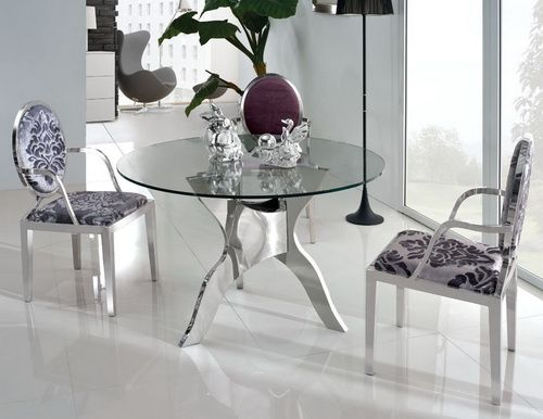 If You Have A Round Glass Top Dining Table (either Oval, Round Or Square)  As Part Of Your Game Room Or Dining Room Set In The Country, It Is  Certainly A ...