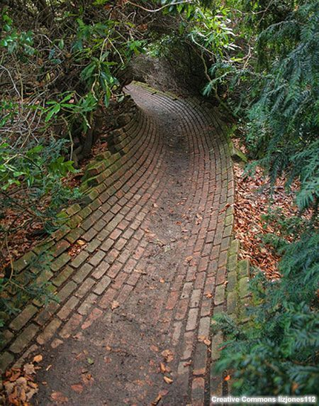 This would look nice for the rain garden overflow- Brick ...