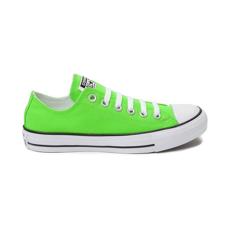 Neon Green Converse Chuck Taylor All Star Lo Neon Sneaker
