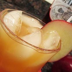 Bobbing for Apples (apple cider, Southern Comfort and ice)  Perfect for Fall! Allrecipes.com