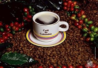 Cafe de Colombia.