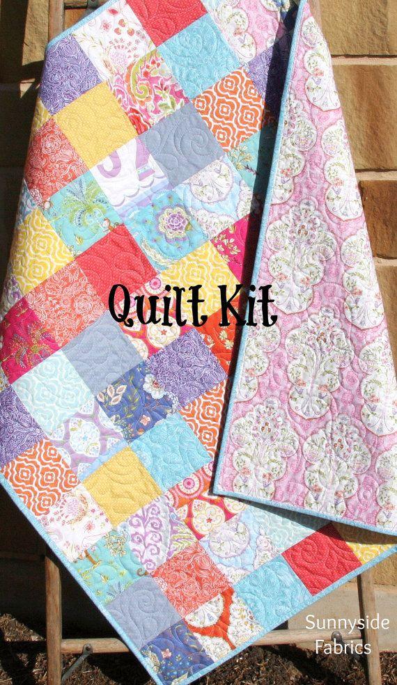 Baby Girl Quilt Kit Sundara Oasis Dena Designs Free