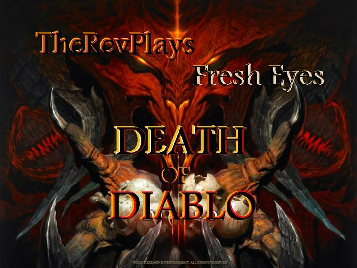 Diablo 3: Death of Diablo - Gameplay - Fresh Eyes Diablo's death is here! Watch this, short sweet show's all his fighting fazes