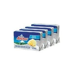 Anchor Butter New Zealand, Unsalted. Pack of 4:Amazon:Grocery & Gourmet Food