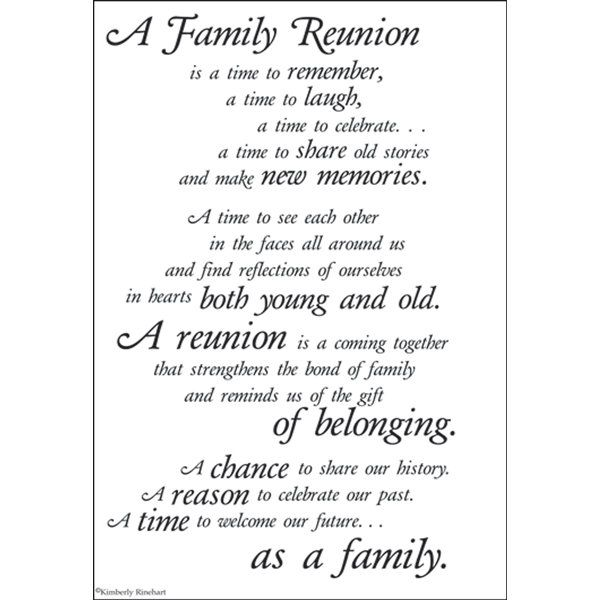 family reunion quotes | Family Reunion Stickers