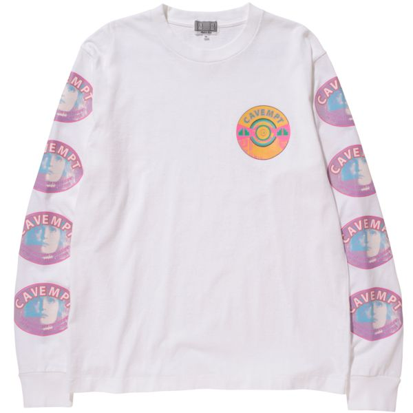 Cav Empt Casual Long Sleeve T (White)