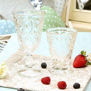 Peardrop Toughened Glassware