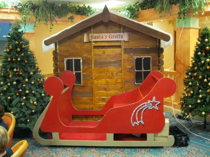 Santa's Grotto in Main Reception