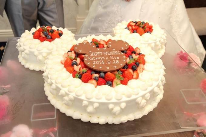 +*★こだわりのウエディングケーキ~ディズニー♡サンリオ~★*+
