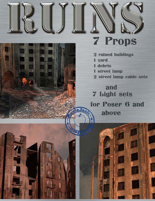 3D Model - Ruins Free Download | web-design in 2019 | Ruins, Web