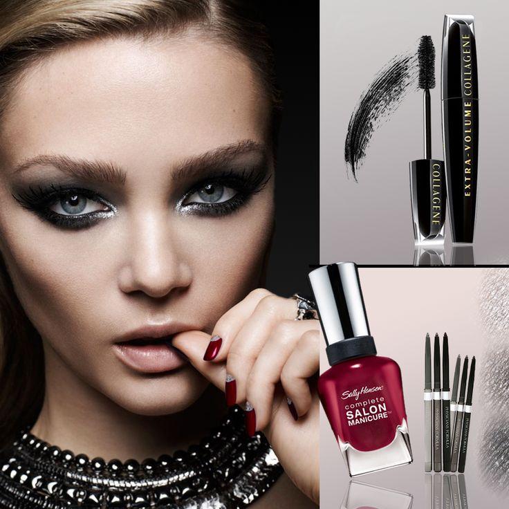 ''Gece Makyajı Ayrıntılıdır. Ayrıntılara Takılın.'' www.turuncukasa.com'dan ürünlere göz atabilirsiniz. Ürün Kodları: Mascara/9231 Oje/6046 Eyeliner/9275