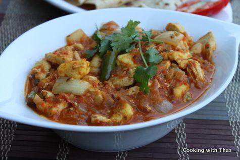 Chicken Paneer Dopiaza Recipe