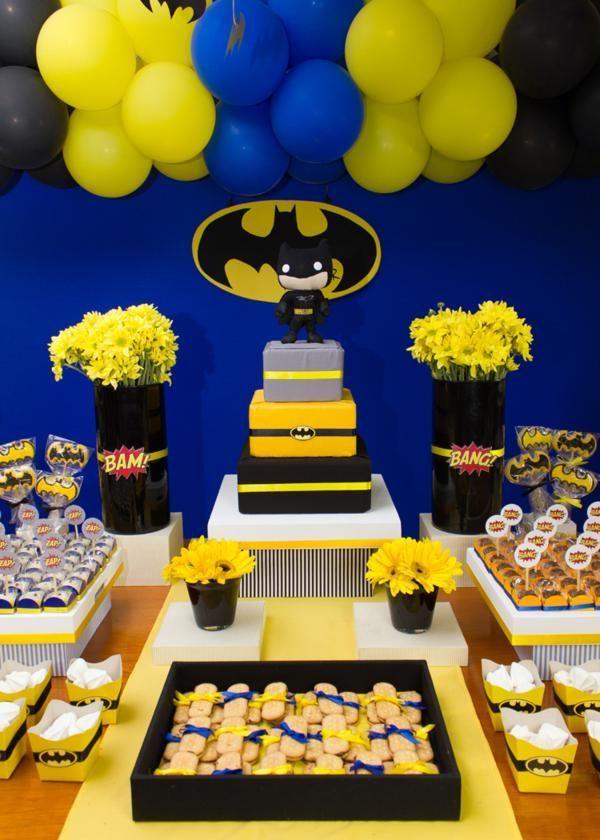 Festa do Batman: 35 ideias incríveis!