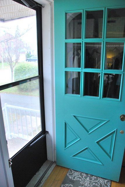 1000 Ideas About Turquoise Front Doors On Pinterest