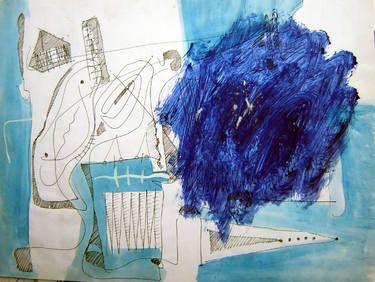 "Saatchi Art Artist remus-lucian stefan; Painting, ""lines and spots 18"" #art"