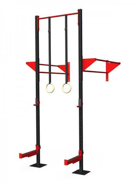 Wall Mounted Rig - Concept 04 - RAW Fitness Equipment