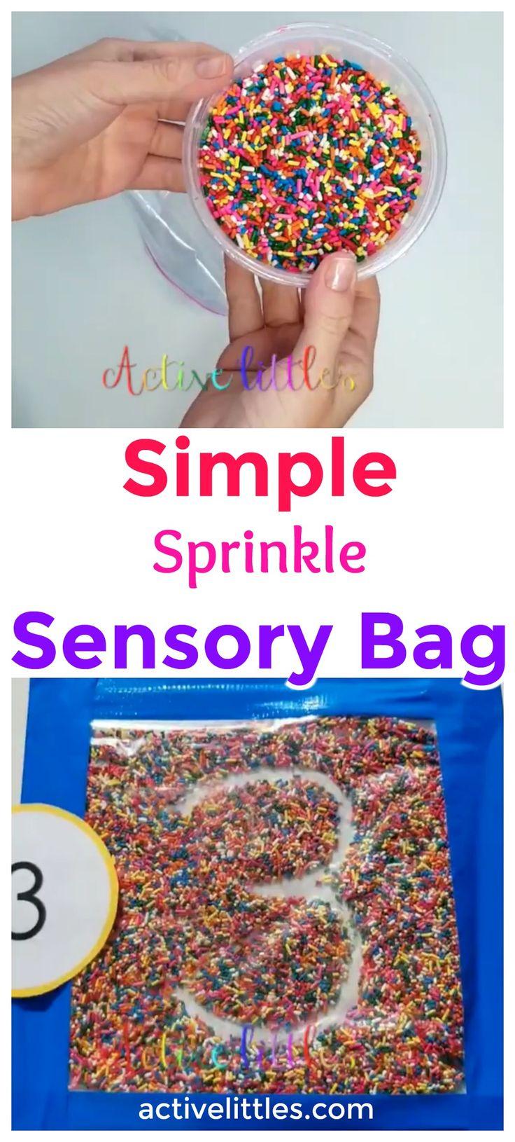 Simple Sprinkle Sensory Bag – Active Littles 4 Year Olds