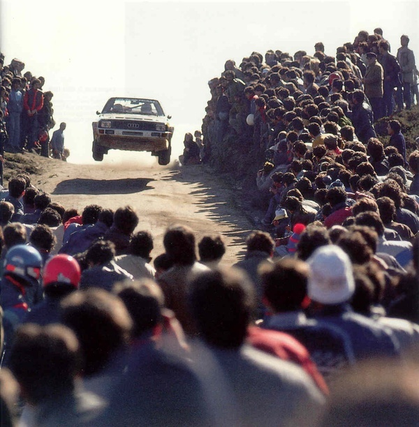 "Group B Rally cars the most famous picture of the "" group B """