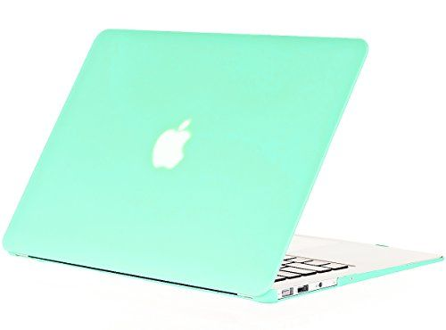 "Kuzy - AIR 13-inch MINT GREEN Rubberized Hard Case for MacBook Air 13.3"" (A1466 & A1369) (NEWEST VERSION) Shell Cover - Mint Green Kuzy http://www.amazon.com/dp/B007K0E3II/ref=cm_sw_r_pi_dp_0GGEub1AVB0JA"
