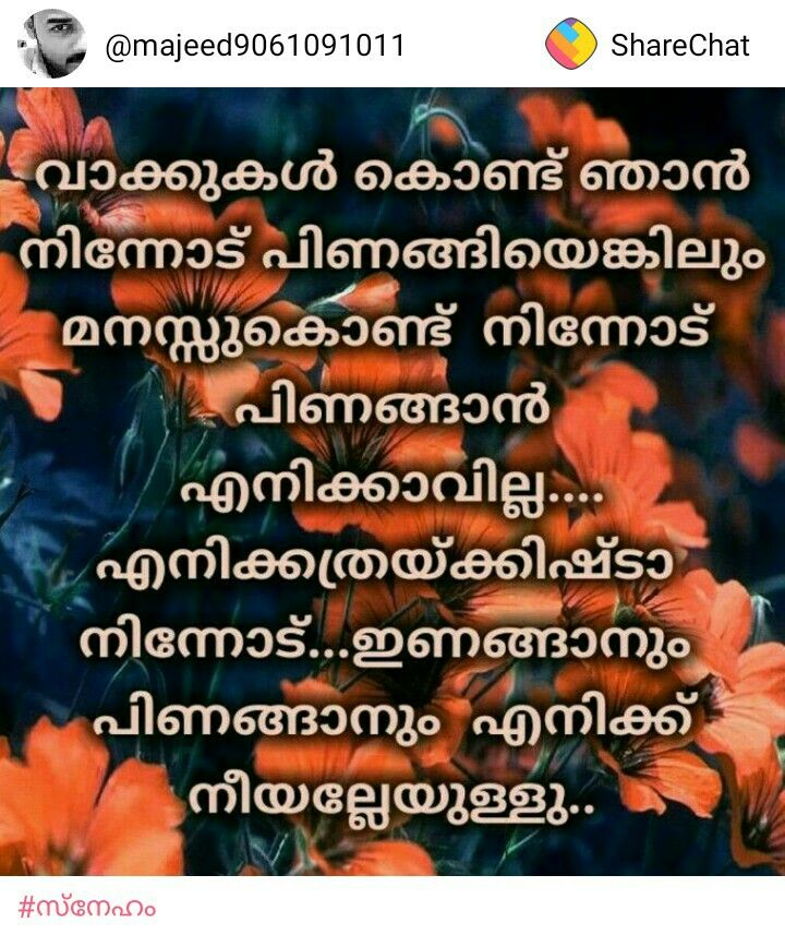 Pin By Bhagya S On Pics Malayalam Quotes Good Night Quotes Love Quotes In Malayalam