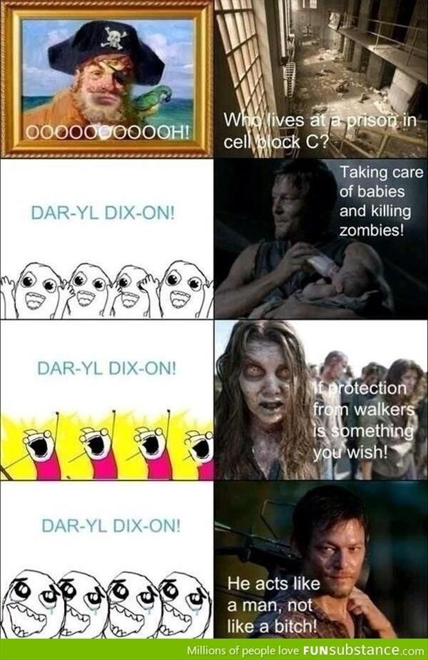 Funny Daryl Dixon Pics | Funny Picture Dump Of The Day. DARYL_ DIXON