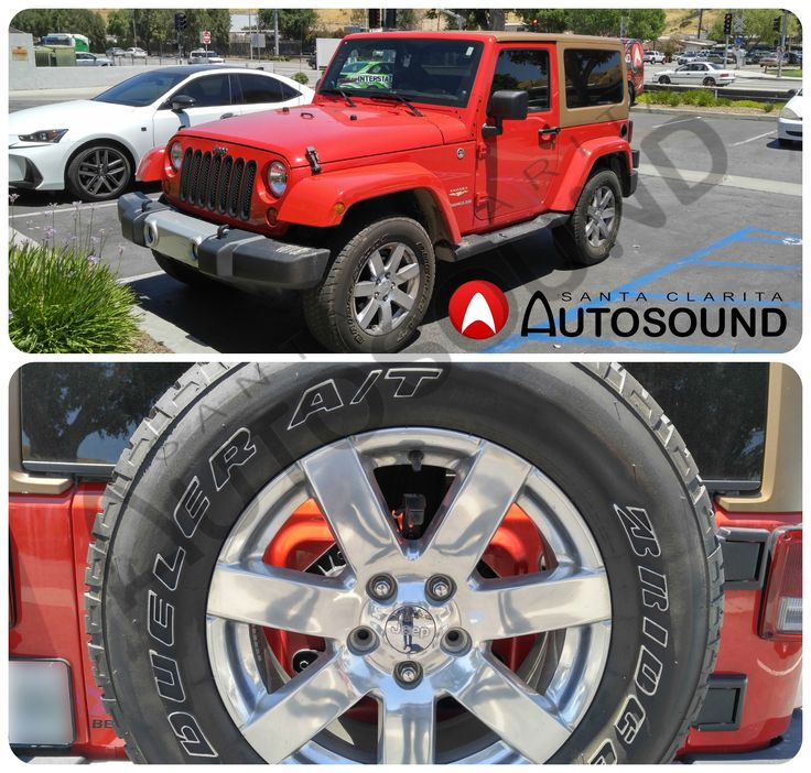 Backup Camera Installation on a Jeep Wrangler Sahara. We have a wide selection of backup cameras with different features. Contact us at (661) 286-1100
