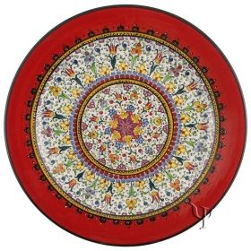 Iznik Ceramic Plates | Iznik Pottery | Ceramic Decorative Plates | Ceramic Hand Painted Plates