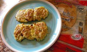THM (S) Fried Zucchini Cakes