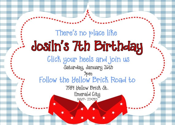 86 best images about Wizard of Oz Birthday Party – Wizard of Oz Birthday Party Invitations