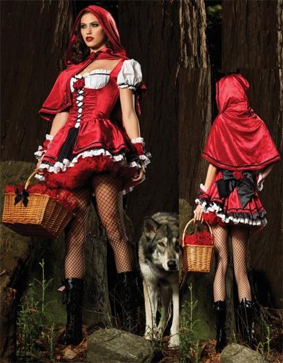 Costume Déguisement Chaperon Rouge Femme