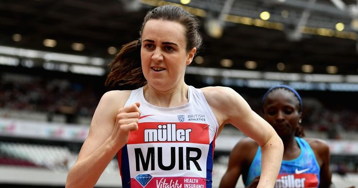 Britain's Laura Muir out to be Dairy Queen of the track at these World Championships  Scottish runner aiming for double glory was a trainee vet milking cows when the same London Stadium staged the Olympics