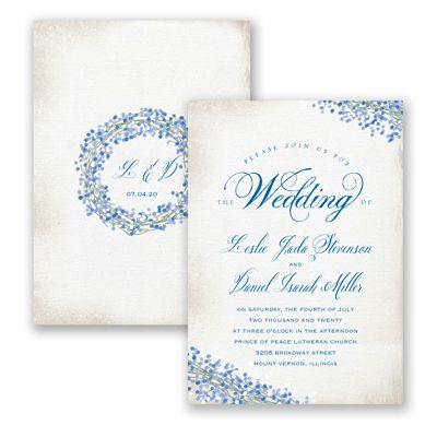 Davids bridal invitations only 70 cents