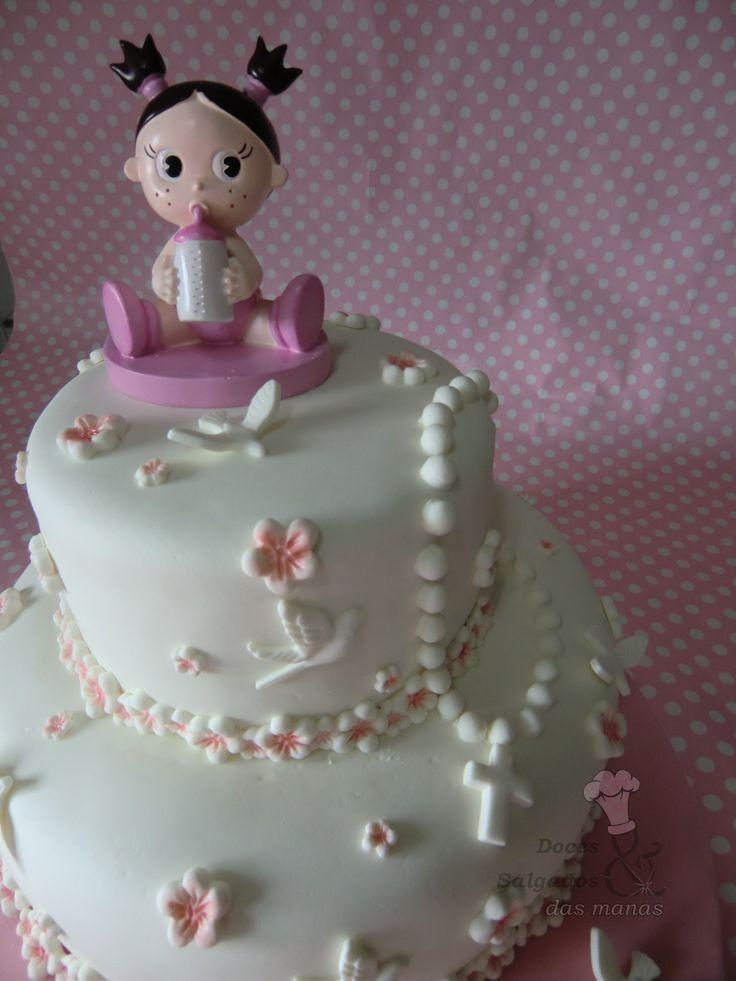 Um bolo de batizado para uma princesa ♥