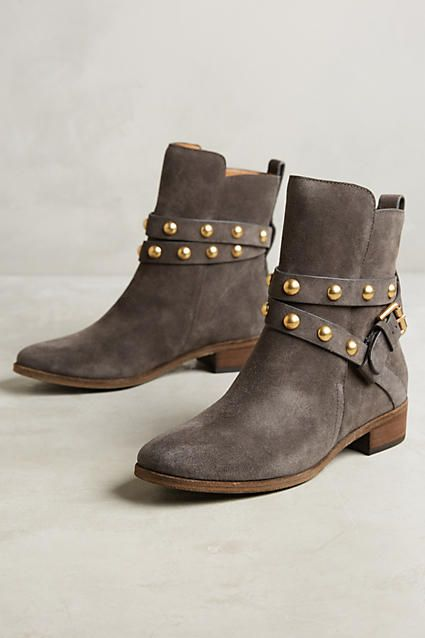 See by Chloe Studded Harness Ankle Boots - anthropologie.com
