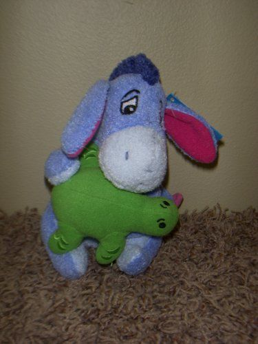 Disney Winnie the Pooh 6 Plush Eeyore Bath Buddy * Check out this great product.