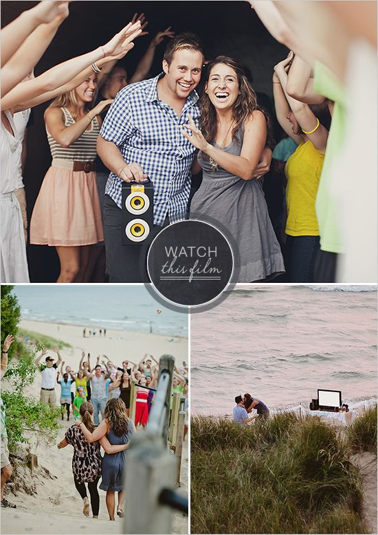 quite possibly the cutest surprise engagement ever. warning: get a tissue