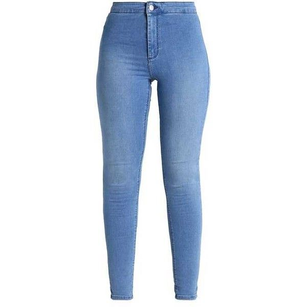 JONI Jeans Skinny Fit blue green ❤ liked on Polyvore featuring jeans, bottoms, pants, skinny fit jeans, skinny leg jeans, blue jeans, green jeans and green skinny jeans
