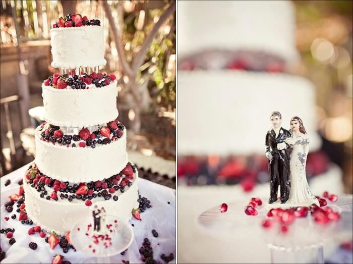 #Torta nuziale ai frutti di bosco #matrimonio #wedding