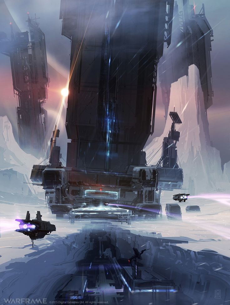 Warframe - Corpus - Ice Planet - Idea A by Zeljko Duvnjak #scifi #concepts