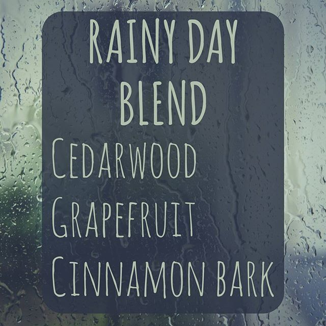 Rainy day Essential Oil Diffuser Blend