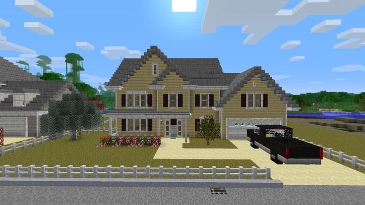 17 best images about cool minecraft houses on pinterest for Minecraft big modern house tour