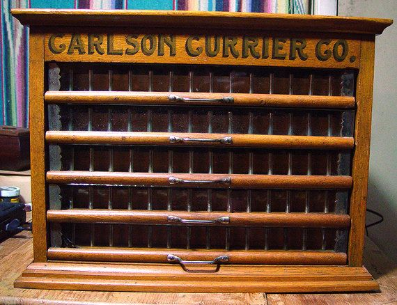 Antique Carlson Currier thread display cabinet, New Year Sale - 121 Best Antique Spool/Thread Cabinets Images On Pinterest