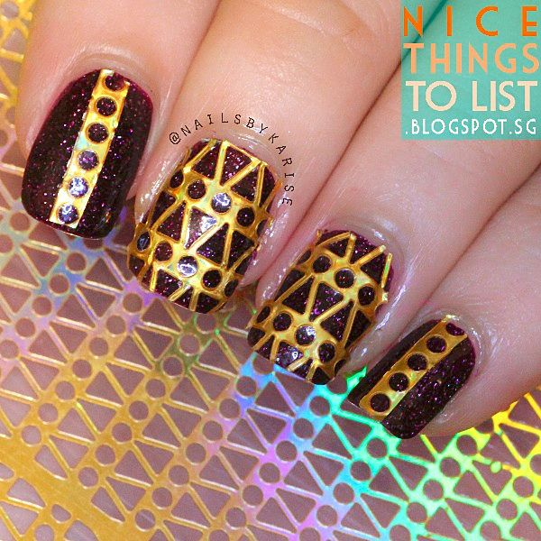 The 25 best fish scale nails ideas on pinterest pretty nails 129 12 tipssheet fish scale nail vinyls nail art manicure stencil stickers jv203 prinsesfo Images