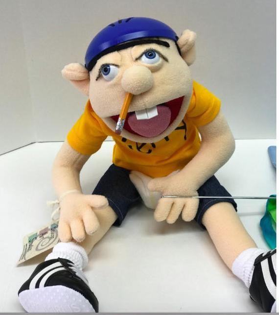 The original Jeffy puppet