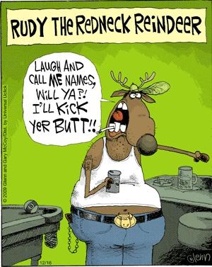 Redneck Cartoons and Comics - funny pictures from CartoonStock |Redneck Christmas Cartoons