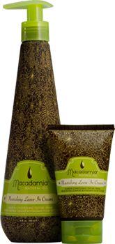 Макадамия несмываемый крем (Macadamia Nourishing Leave-in Cream)